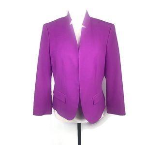 NINE & Co Ladies Purple Suit Jacket Size 8 NWOT